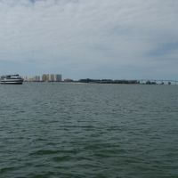 Sand Key from Clearwater Harbor, Клирватер