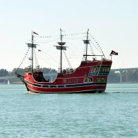 A Pirate Themed Excursion Ship In Clearwater, Клирватер