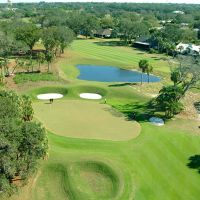 Belleair Country Club - Air View, Клирватер