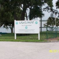 Lions Park on Lake Alfred, Лейк-Альфред