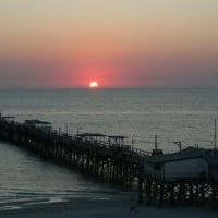Sunset over Redington pier Fl, Мадейра-Бич
