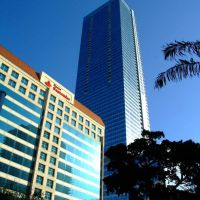 Miami, Florida - Usa - Banco Santander and Four Seasons Hotel & Tower, Майами
