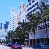 Hotels at Collins Avenue (Delano, National, Ritz Carlton), Майами-Бич