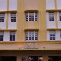 Leslie, Art Deco Hotel, Майами-Бич