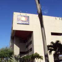View of Televisas building in Miami, Майами-Спрингс