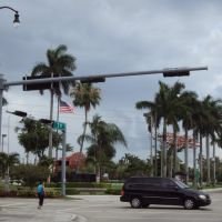 Veterans Memorial at Triangle Park- E 3rd St & Palm Ave, Майами-Спрингс