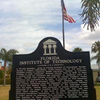 Florida Tech Historic Sign, Мельбурн