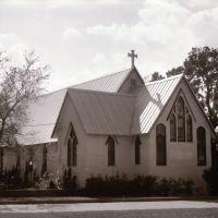 Holy Trinity Episcopal Church, rear of chapel, Мельбурн