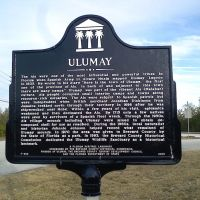 Ulumay Florida State Heritage Landmark Sign, Мерритт-Айленд
