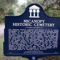 Historical Marker, Миканопи