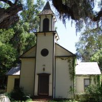 1880s Bapist church of Micanopy, established in 1852, now used as house (4-30-2011), Миканопи