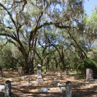 Micanopy cemetery, oldest grave 1826 (4-30-2011), Миканопи