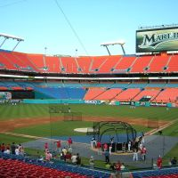 Florida Marlins - Dolphins Stadium, Норвуд