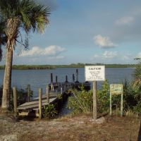 Myakka river camp dock 2, Норт-Порт