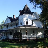 1884 Dunn house, Quenn-Anne style, Ocala Fla (10-2-2011), Окала