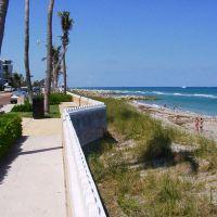 ocean drive and beach - Palm Beach, Палм-Бич