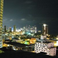 view panama by night hotel Soloy, Панама-Сити