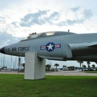 Air Force Jet - Panama City, Florida Pier, Панама-Сити