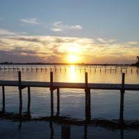 Sunset at Panama City, FL, Панама-Сити