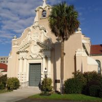 1903 Christ Episcopal church, established in 1827, Pensacola (12-30-2011), Пенсакола