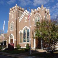 Emmanuel Lutheran church, established in 1885, Pensacola (12-30-2011), Пенсакола