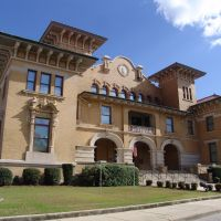 1907 Pensacola City Hall, now the Florida State Museum, Plaza Ferdinand (12-30-2011), Пенсакола