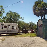 "2009 Along Florida US 19 ""Big Ds BBQ"", Перри"