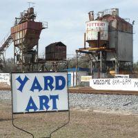 Yard Art - Perry, Florida, Перри