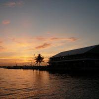Sunrise over Fishermans Village, Пунта-Горда