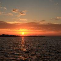 Sunset at Punta Gorda, Пунта-Горда