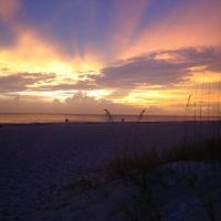 Redington Beach Sunset with cool colors, Редингтон-Бич
