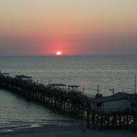 Sunset over Redington pier Fl, Редингтон-Бич