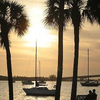 Sarasota Island Park & Marina. Sarasota, FL U.S.A., Сарасота