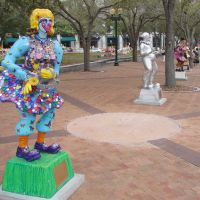 Clown Statues in Sarasota Florida, Сарасота