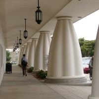 Columns of Knowledge at Selby Public Library in Sarasota Florida, Сарасота