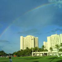 rainbow in Univ of Miami, Саут-Майами