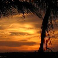 Sunset from bristol court, tavernier fl, Тавернир