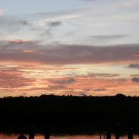 Sunrise from Tavernier Creek Marina, Тавернир