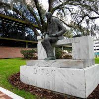 Dirac Statue - Florida State University - Tallahassee, Florida, Талахасси