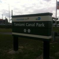 Tamiami canal park, Тамайами