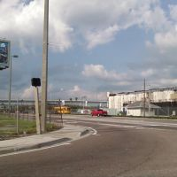 Tampa Channelside @ Twiggs - Looking NE, Тампа
