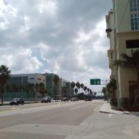 Channelside Dr. in Tampa - Looking S, Тампа