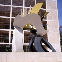 Modern Art in Downtown Tampa - Looking N, Тампа