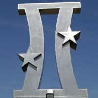 US Space Walk of Fame Gemini Monument, Titusville, Florida, USA, Титусвилл