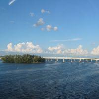 U.S.41 looking N Edison Bridge Ft. Myers Fl, Форт-Майерс