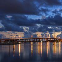 early view of south bridge, Форт-Пирс