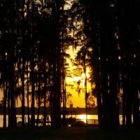 Sunset over Lake Keystone, Хамптон