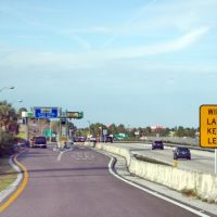2012, Tampa, FL - Toll booth Veterans Expressway, Хамптон