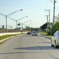 2012, Tampa, FL - entry ramp to Veterams Expressway, Хамптон