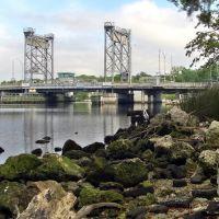 Hillsborough Avenue Bridge, Seminole Heights, Tampa, Florida, Хамптон